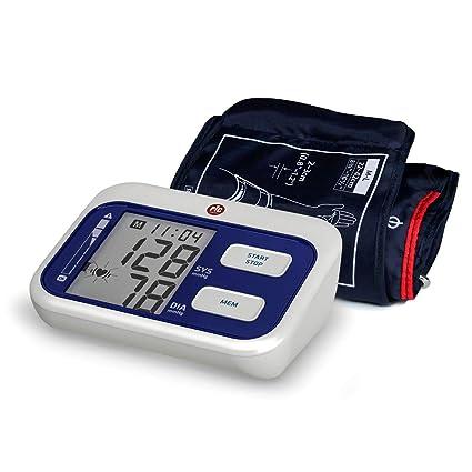 Pic Solution - Tensiómetro de brazo Cardio Simple, con memorias para 2 usuarios y media