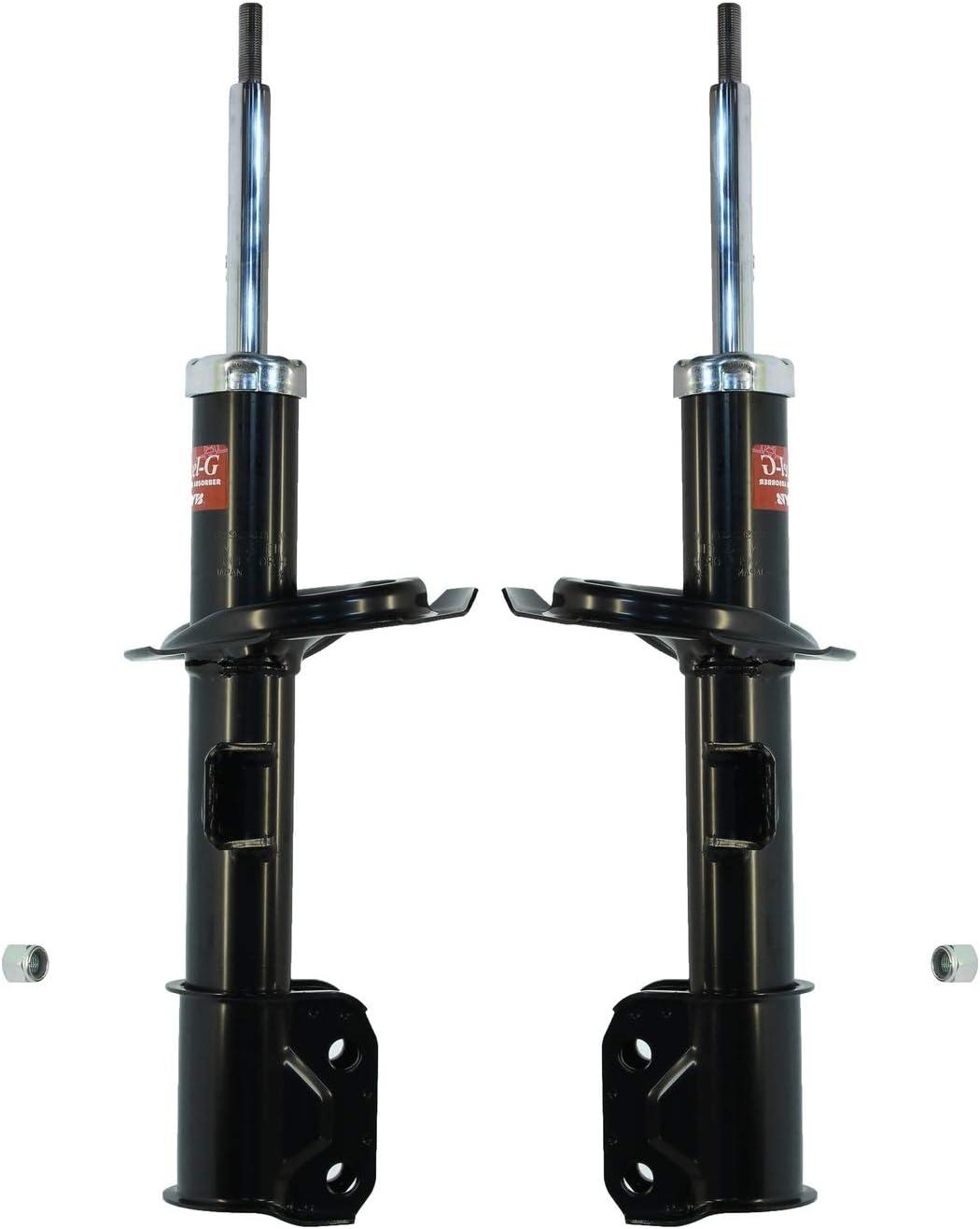 Pair Set of 2 Front Excel-G KYB Suspension Struts for Suzuki Kizashi 2010-2013