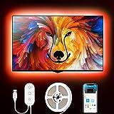 Tiras LED, Govee Tira LED TV USB 2M, 16 Millones DIY Colores y 7 Modo Escenas con App Control, Retroiluminacion Luces…