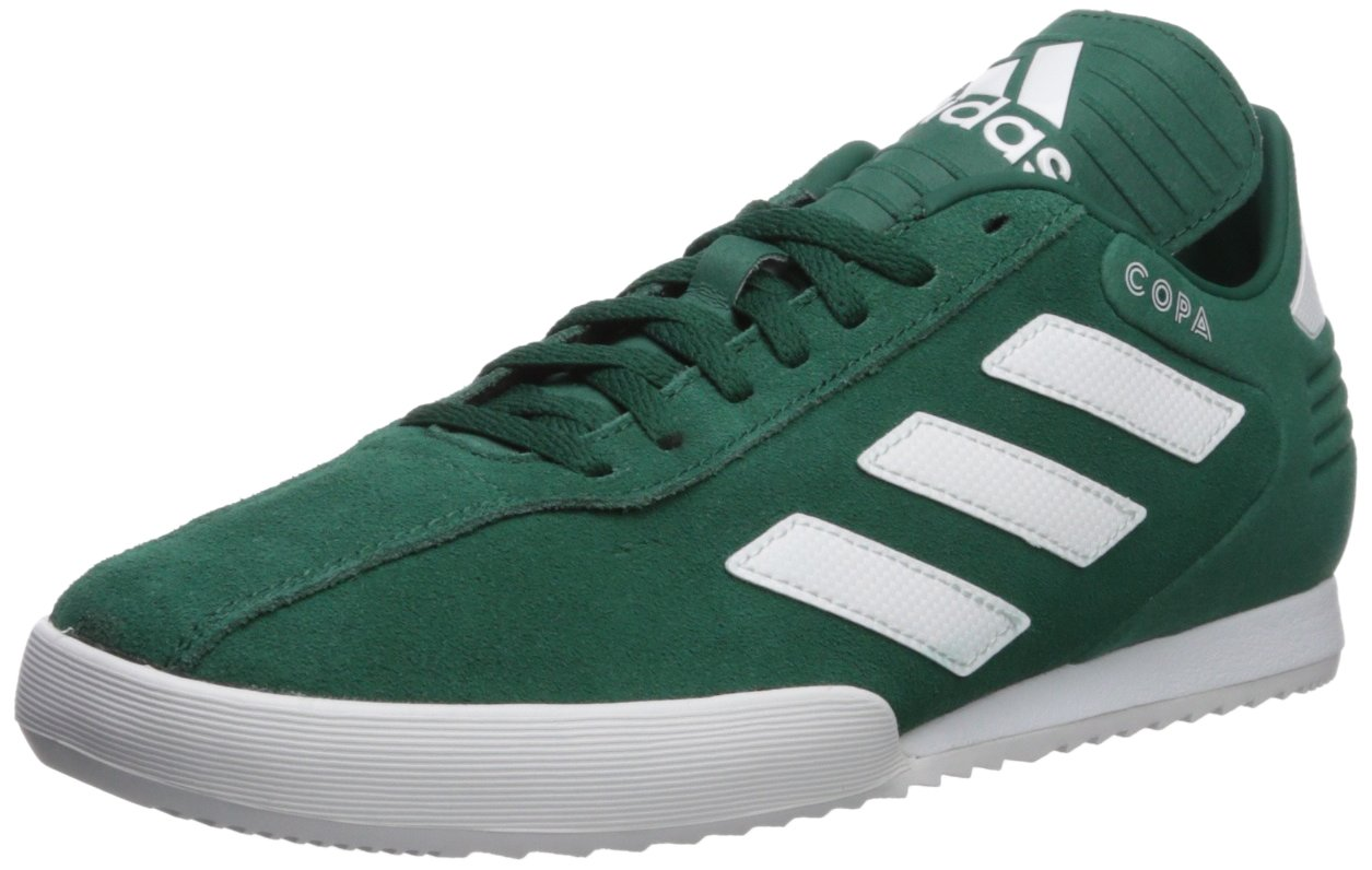adidas Men's Copa Super Soccer Shoe, Green/White/Scarlet, 6.5 M US
