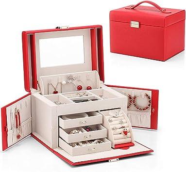 Xuejuanshop Caja para Joyas/Caja Joyero Caja de joyería Creativa ...
