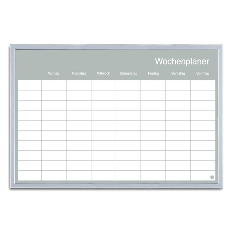 extrem kratzfeste Oberfl/äche magnetisch Magnettafel mit Alurahmen 120 x 90 cm VISCOM Premium Whiteboard Emailliert weitere Gr/ö/ßen w/ählbar