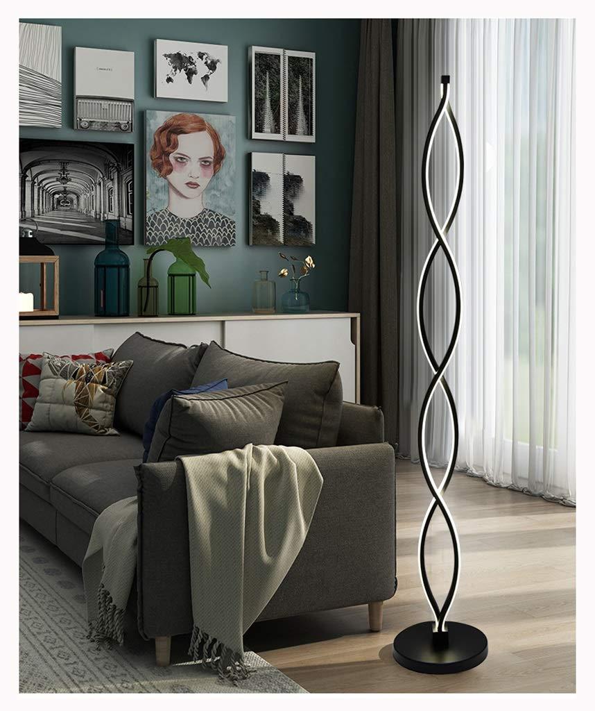 WPQW フロアランプの寝室のリビングルーム暖かい調光対応北欧クリエイティブ垂直テーブルランプフロアランプ -6554フロアスタンドランプ (色 : B) B07PS8XCD3 B