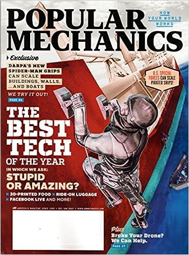 Popular Mechanics December 2016 January 2017 The Best Tech Of The