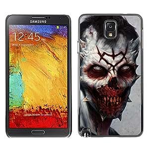 Stuss Case / Funda Carcasa protectora - Evil Zombie Vampiro - Samsung Note 3 N9000