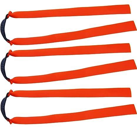 Mangobuy Ersatzband für Holzschleuder / Katapult / Jagdbänder, flach, elastisch, 10 Stück