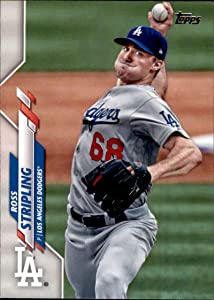 2020 Topps Baseball Series Two #546 Ross Stripling Los Angeles Dodgers Official MLB Trading Card From The Topps Company