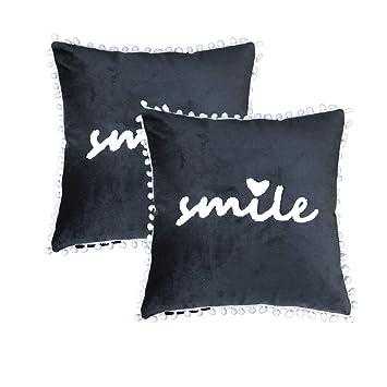 Amazon.com: Fundas de almohada de color amarillo, fundas de ...