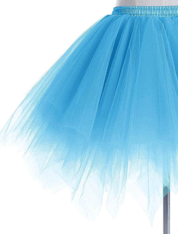 Wedtrend Donna Balletti Danza Tutu Gonna Annata di 50 Cocktail Swing Principessa Sottogonna Tulle