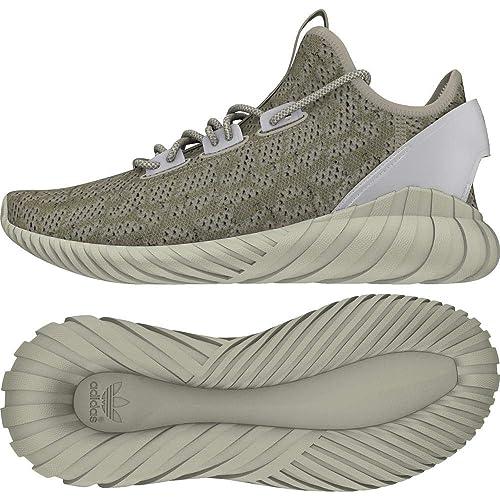 adidas Originals Men's Tubular Doom Sock Pk Cbrown, Cwhite, Ftwwht
