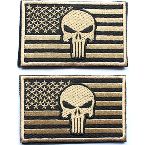 Punisher American Decorative Embroidered appliques