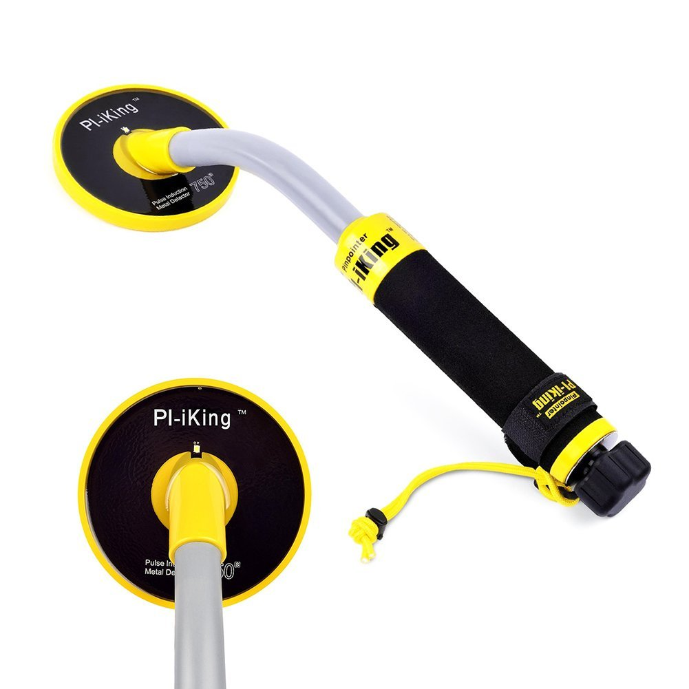 TTLIFE Pulse Induction 750 Underwater PinPointer 30M Fully Waterproof Metal Detector with Vibration LED by TTLI