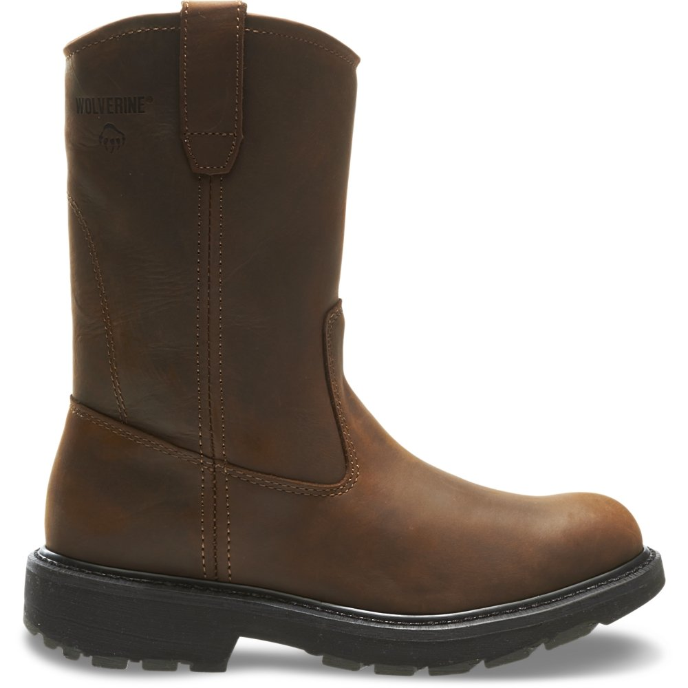 Wolverine Men's W04727 Boot, Dark Brown, 13 M US
