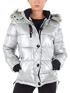 8984276c364 CANADA WEATHER GEAR Women s Bomber Jacket Plus Size at Amazon ...