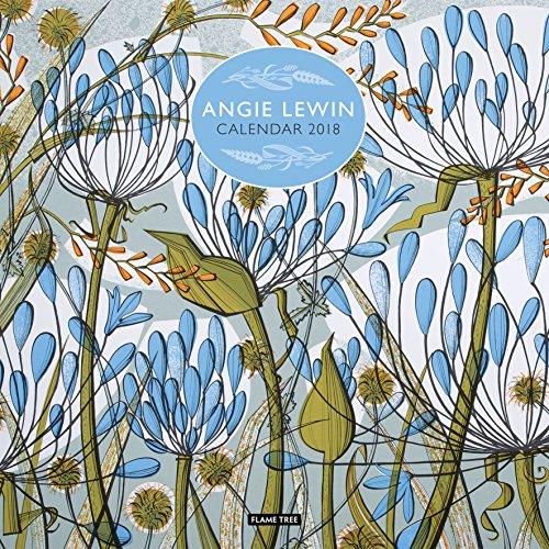 Angie Lewin Wall Calendar 2018 (Art Calendar)
