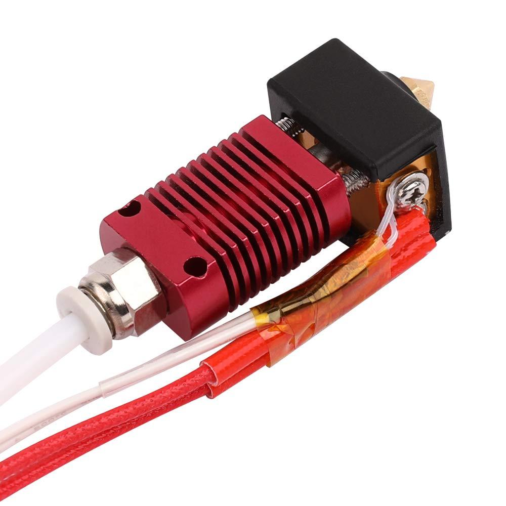 0,4 mm D/üse f/ür Ender 3 Creality 3D Official Store Original Ender 3 Drucker Extruder Hot End Kit 24 V Herz mit Aluminium Heizblock 1,75 mm