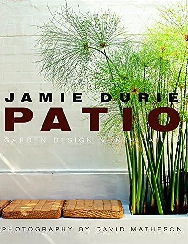 Patio Garden Design Inspiration Amazon Co Uk Durie Jamie 9781865087870 Books