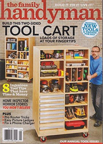 The Family Handyman Magazine May 2017