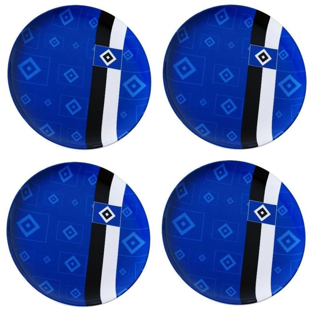 Hamburger SV plato/platos/platos para camping/Picnic-plato HSV 4P-Set: Amazon.es: Deportes y aire libre