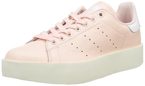 detailed look dd0ac fec10 adidas Stan Smith Bold, Zapatillas para Mujer, Rosa Icey Pink Footwear White,  37 1 3 EU  Amazon.es  Zapatos y complementos