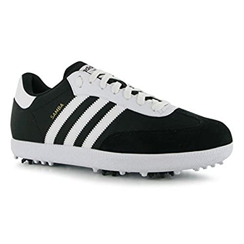 adidas Mens Golf Samba Golf Shoes Sport Trainers Lace Up Footwear Sneakers Pumps