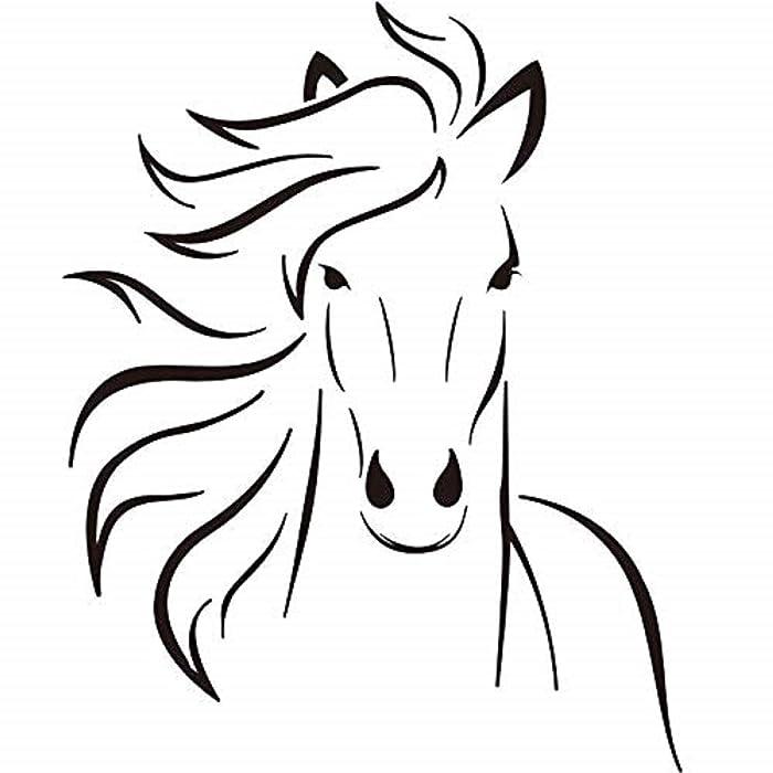 The Best Fat Head Wall Decor Horse