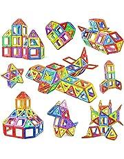 مجموعة مكعبات البناء، مجموعات بناء للأطفال الصغار بناء منزل ألعاب ربط وبناء ألعاب تعليمية بناء للأطفال والأطفال الصغار والبنات الصغار، 76 قطعة