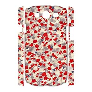 Retro Floral Flower 3D-Printed ZLB537008 Personalized 3D Phone Case for Samsung Galaxy S3 I9300