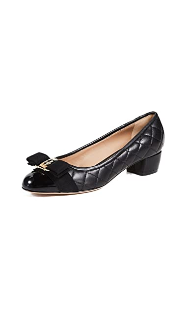 b715f343aa0 Amazon.com  Salvatore Ferragamo Women s Vara Pumps  Shoes