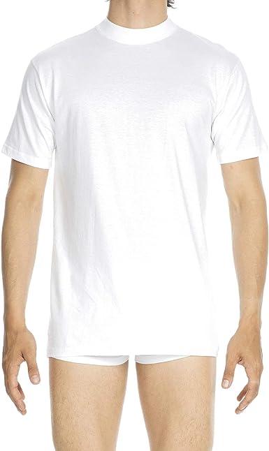 TALLA L. HOM Harro T-Shirt Col Rond Camiseta para Hombre