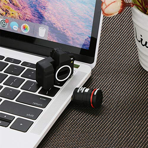 Aobiny New USB 2.0 Flash Drive Novelty Digital Camera Shape Pen Drive Flash U Disk (64g)