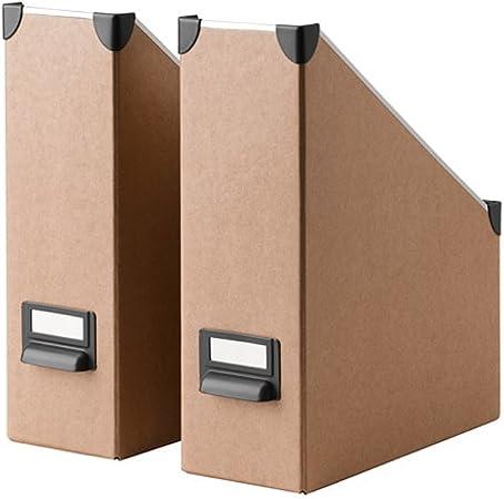 Ikea Fjalla revistero archivador beige 2 unidades: Amazon.es: Hogar