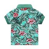 Boys Casual Clothing Set 2Pcs Prints Short Sleeve