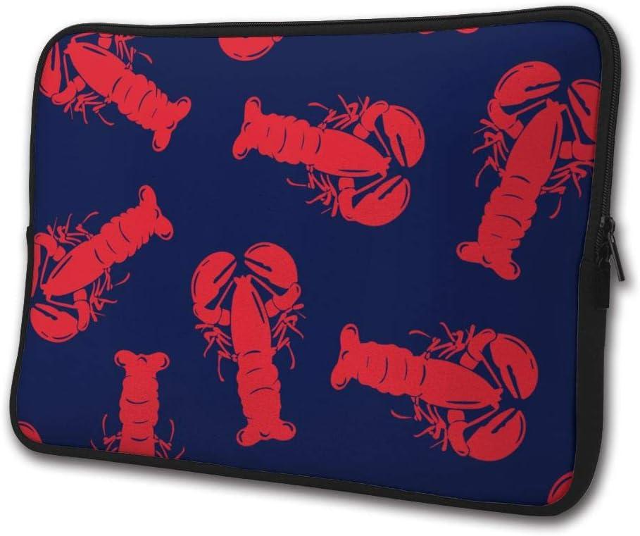 Yongchuang Feng Red Lobster Sleeve Laptop Bag Tablet Case Handbag Notebook Messenger Bag for Ipad Air MacBook Pro Computer Ultrabook 13-15 Inches