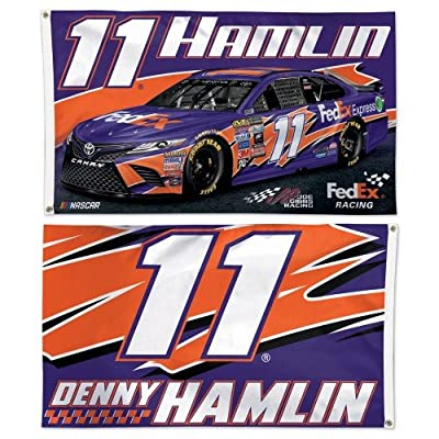 NASCAR Driver 3x5 2-sided Flag with 2018 Graphics