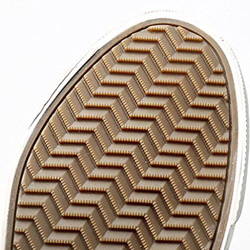 da casual scarpe da Espadrillas da basso 40 tendenza scarpe uomo in pedale scarpe un Blue corsa Scarpe Color tela selvaggia Scarpe Size basse YaNanHome Gray uomo traspiranti qaxwPvaY