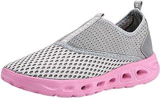 HCFKJ Scarpe Sportive Sneaker Scarpe da Ginnastica Unisex per Adulti Leggere e Traspiranti con Fondo Morbido