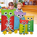 zipper board - Samber Baby Learn to Dress Board Basic Skill Learning Board Toddler Dressing Enlightment Early Education Aids Baby Puzzle Toys Children Early Teaching Props
