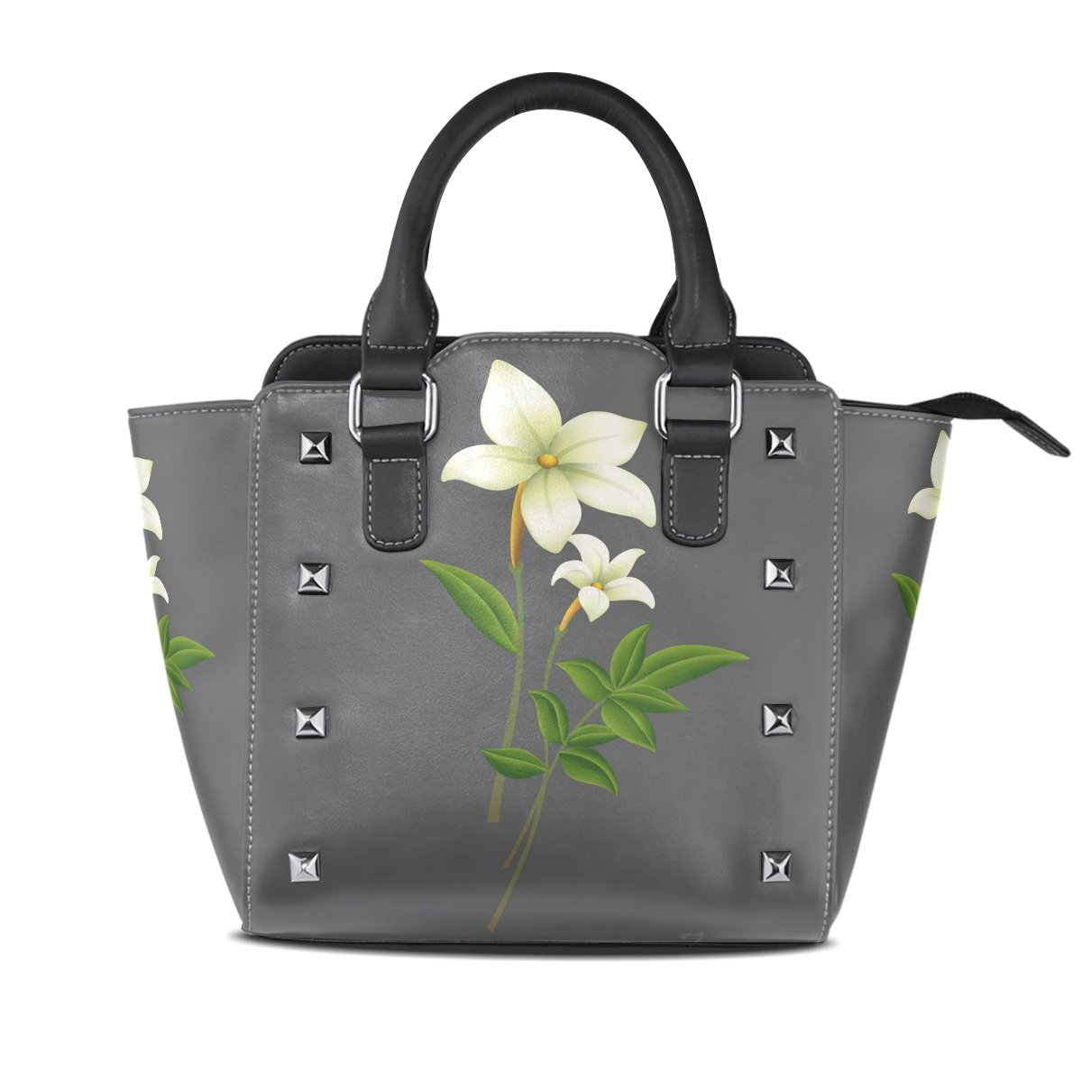 Ladies Genuine Leather Tote Bags Daffodil Womens Hangbags Shoulder Bags