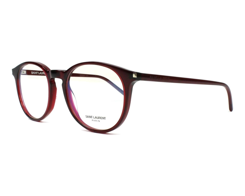 Acetate Transparent Bordeaux SL-106 006 Yves Saint Laurent frame