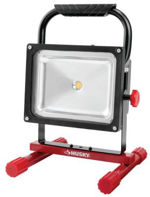 Husky 5 ft. 1,500 Lumens Rechargeable LED Work Light-K40051 - The Home Depot