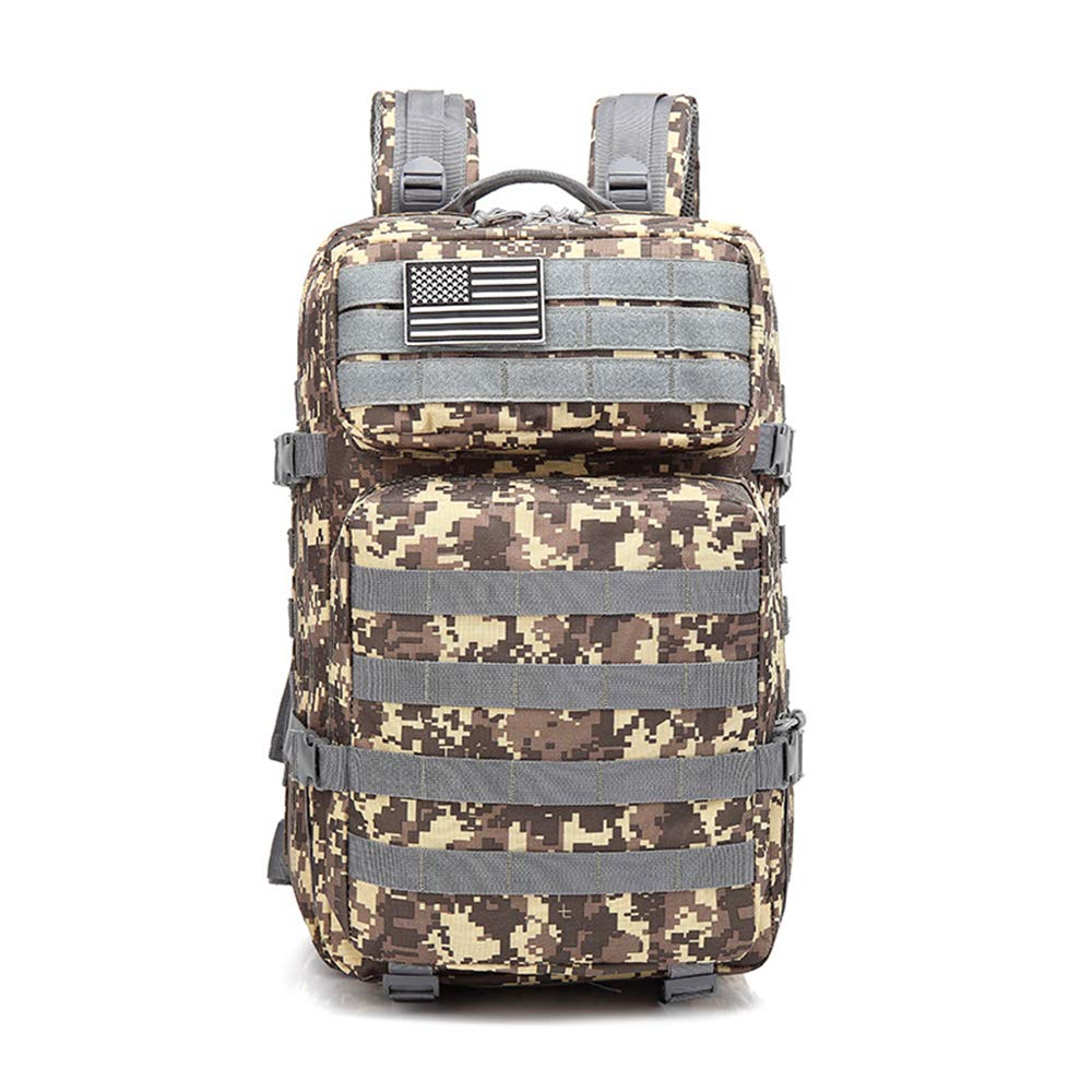 GiuGinHuYu Sports Travel Backpack Military Fan Tactical Camouflage Backpack Sports Outdoor Backpack Travel Bag ACU Color OneSize by GiuGinHuYu