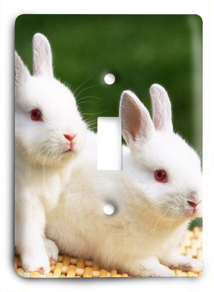 Awesome Rabbit Awesome sv396ライトスイッチカバー Rabbit B01K4SR1EK, 食器とお弁当箱のお店【SOERU】:53f02476 --- itxassou.fr