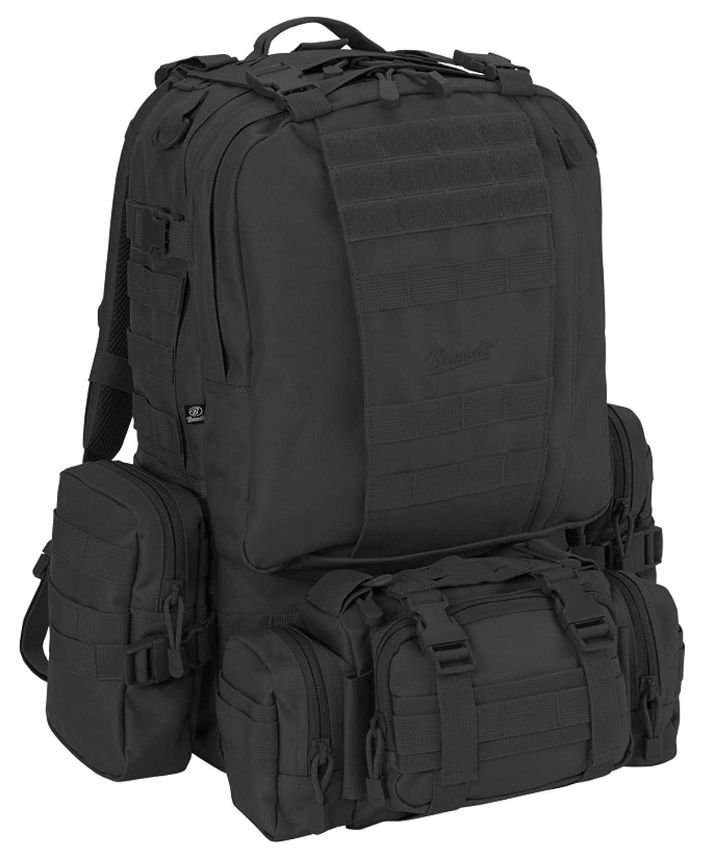 Brandit Backpack USクーパーモジュラーパック、カラー:ブラック   B07L5MGHJR