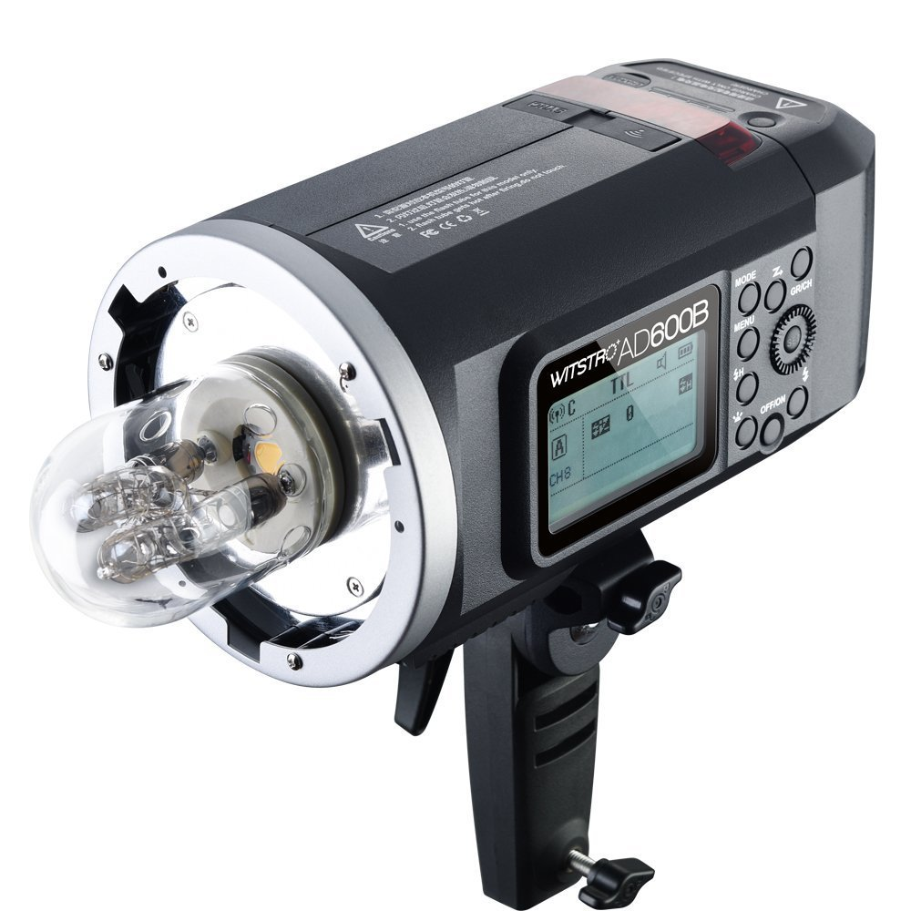 Godox AD600B TTL Bowen Mount GN87 600W HSS 1/8000s 2.4G Wireless with 8700mAh Lithium Battery Outdoor Studio Strobe Flash,Godox XPro-F Flash Trigger for Fuji Camera by Godox (Image #5)