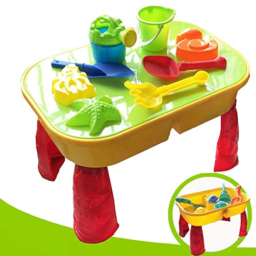 winterswet Mesa de Arena y Agua - Gran Mesa de plástico para niños ...