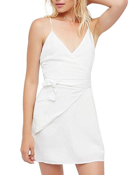 White Wrap Cocktail Dresses