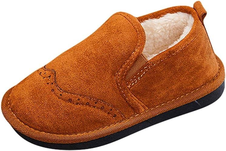 Amazon.com: MIS1950s - Botas de nieve cortas para niños: Shoes