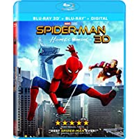 Spider-Man Homecoming on Blu-ray 3D