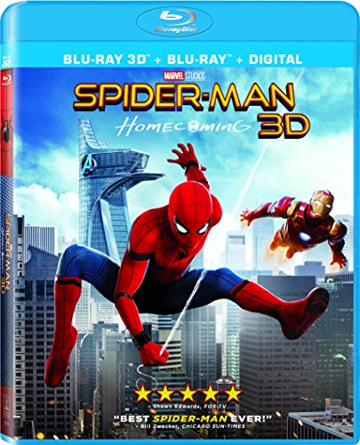 Spider-Man: Homecoming [Blu-ray]
